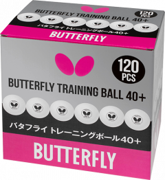 Butterfly 120 Training Balls White