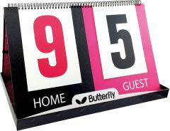 Butterfly Scorebord Point Counter
