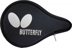 Butterfly Case Logo Round Zwart