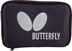 Butterfly Single Case Logo Zwart