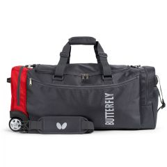 Butterfly Sport Bag With Wheels Otomo Rood