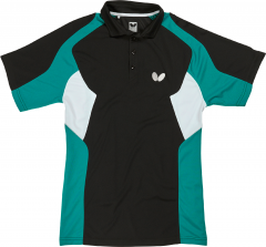 Butterfly Polo Shiro Zwart