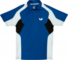 Butterfly Polo Shiro Blauw