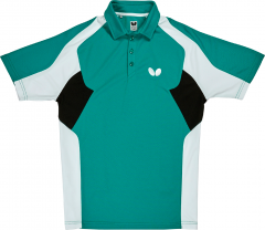 Butterfly Polo Shiro Petrol