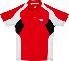 Butterfly Polo Shiro Rood