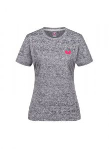 Butterfly T-Shirt Toka Lady Grijs