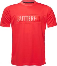 Butterfly T-Shirt Stripe Rood